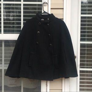 Eci Black winter cape